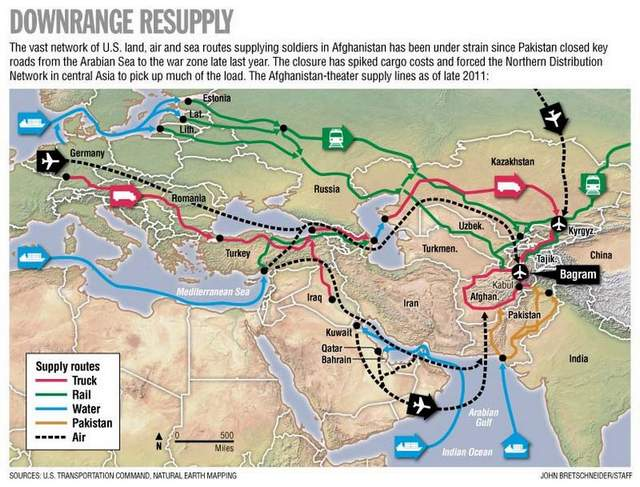The Long Way Home Afghanistan The US And The Promise Of A New - Us new silk road map